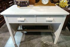 2 Drawer White Painted Desk - Sku: QXXHQU - $99