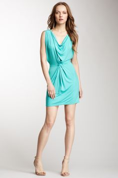 Fraiche By J Cowl Neck Solid Dress on HauteLook. steal her style with a hipknoties
