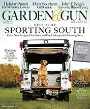 Garden and Gun Magazine Subscription