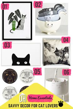 Are You a Cat Person or a Dog Person? Vote Now + See 12 Stylish Decor Pieces for Both >> http://blog.hgtv.com/design/2015/08/11/12-stylish-home-decor-pieces-for-cat-people-and-dog-people/?soc=pinterest