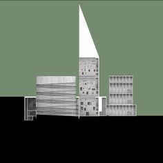 Mariuo Ricci, Cattedrale Multiculturale, 2015.  #architecture #design #drawing Pinned by www.modlar.com