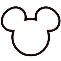 free download mickey silhouette clipart for your creation disney rh pinterest com mickey clipart head clipart mickey et minnie