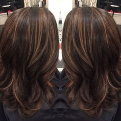 60 looks with caramel highlights on brown and dark brown hair caramel highlights on dark brown hair pmusecretfo Choice Image