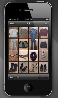 Great app for organizing your closet.