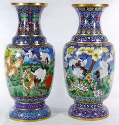 Chinese Culture, Chinese Art, Vases Decor, Art Decor, Traditional Vases, Flower Frog, Color Blending, Chinoiserie, Flower Vases