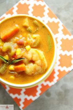 Curried Shrimp Chowder