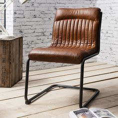 Capri Leather Chair