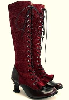 Steampunk Boots. I love boots!