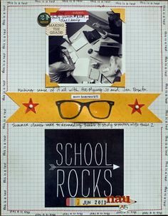 School Rocks - Scrapbook.com