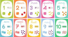 Display Numbers from 1 to 10 (My school) Educational Activities For Toddlers, Abc Activities, Math For Kids, Fun Math, Arabic Alphabet For Kids, Halloween Math, Halloween Activities, Kids Math Worksheets, French Classroom