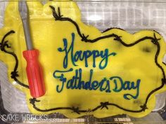 This weekend being what it is, may I wish Happy Fathder's Day to all you guys out there. Enjoy the plastic screwdriver.