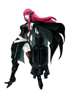 (Black Rock Shooter) thing but I was curious about how I would imagine Luka if she were one. Black Rock Shooter, Vocaloid, That Way, Shirt Designs, Darth Vader, Deviantart, Sexy, Fictional Characters, Google Search