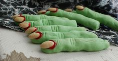 Oh my goodness.  I haven't made these witches fingers for at least 100 years.         Seriously.  I think my kids were in...well...
