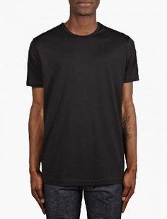 Sunspel Black Short Sleeve Crew Neck T-Shirt The Sunspel Mens Short Sleeve Crew Neck T-Shirt