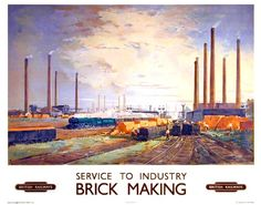 Image result for BR POSTER SERVICE TO INDUSTRY MAKING BRICKS