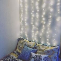 Changing up my room to help combat my case of the blues. These strings lights are the best #pier1imports#pier1love#wayfair#cozy#mondaymotivation#monday#mondayblues#sharePier1#fairylights