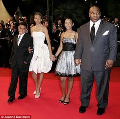 Mike Tyson Daughter Funeral | Tyson arrives in Cannes with some of his children for the film ...