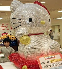Blinged Out Hello Kitty!