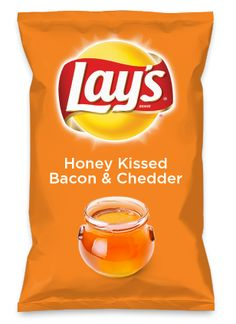Wouldn't Honey Kissed Bacon & Chedder be yummy as a chip? Lay's Do Us A Flavor is back, and the search is on for the yummiest flavor idea. Create a flavor, choose a chip and you could win $1 million! https://www.dousaflavor.com See Rules.