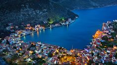 Lovely village at Kastellorizo island, Greece.Most Beautiful Villages Around The World PART 2 World's Most Beautiful, Beautiful Places In The World, Oh The Places You'll Go, Places To Travel, Places To Visit, Amazing Places, Beautiful Villas, Bing Wallpaper, Myconos