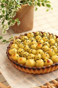 Sweet Potato Tartスイートポテトタルト おうち de Patisserie