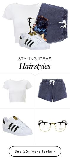"""Untitled #2392"" by itzmealisia on Polyvore featuring Lipsy, adidas, women's clothing, women, female, woman, misses and juniors"