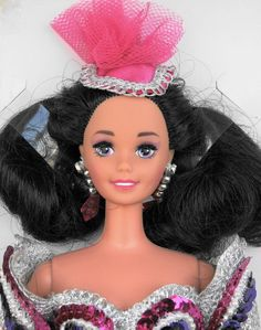 1993 OPENING NIGHT BARBIE doll NRFB MIB Superstar face with eyelashes $50 Retail #Barbie #Dolls