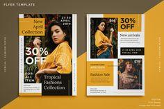 Aprilia Fashion Flyer (Graphic) by · Creative Fabrica Corporate Event Design, Corporate Flyer, Banner Design, Layout Design, Print Design, Design Art, Free Banner Templates, Flyer Template, Flyer Dj