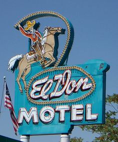 ~El Don Motel on Central Ave. (Old Rt. 66) in Albuquerque, NM~