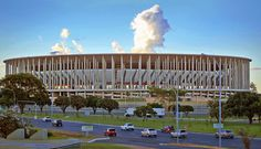 Mane Garrincha national stadium, Brasilia is not only a gigantic stretch of an arena it's also the greenest stadium of the world.. Read here. http://globalhop.indiaartndesign.com/2014/06/brasilia-world-heritage-site.html