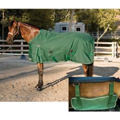 Lightweight Turnout: Hunter Green: 81 inch by Kensington. $179.99
