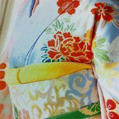 Kimono/ Obi detail