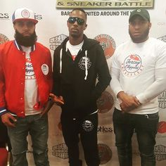 #Jerseyclippers @dacreatorworkss @mo5mike Barber Battle Mode .. Support your Jersey boys ....WE N THE BUILDING #jerseycity #jerseycitynj #jersey #barbershop #barbershopconnect #newark #newarknj #barberbattle #barbersinctv #barbers #barbershopplug #officialbarberclub