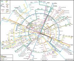 Les plans de métro sont devenus trop compliqués pour notre cerveau   Slate.fr