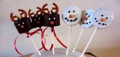Kerstlolly's maken: Rudolphjes & Sneeuwpoppen