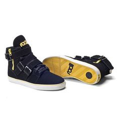Straight Jacket Sneaker Blk Yl, $100, now featured on Fab.