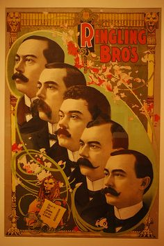 The Ringling Brothers by amInkie, via Flickr