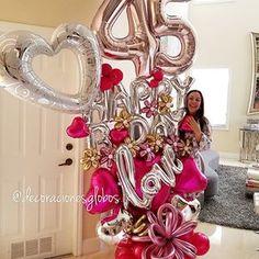 Birthday Ideas For Men Trendy Ideas 40th Birthday Parties, Birthday Balloons, Birthday Bash, Fifty Birthday, Birthday Celebration, Birthday Ideas, Balloon Centerpieces, Balloon Decorations, Birthday Decorations