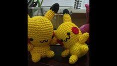 Aprenda a fazer amigurumi Pikachu- com o passo a passo em croche