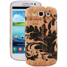 Samsung(R) Galaxy S(R) III Cork Case (Filigree) - GAIAM - 30838