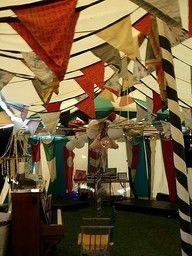 creepy vintage carnival decorations | Cirque du CarnEVIL...2012