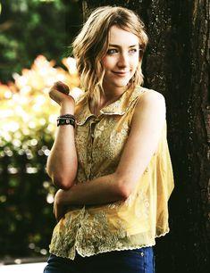 Saoirse Ronan. Her hair. That outfit.
