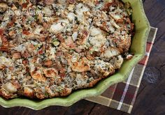 Chicken Sausage and Herb Stuffing - 3 Points