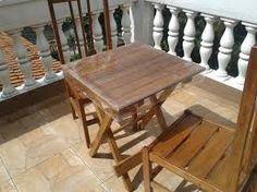 Resultado de imagem para mesa de madeira de bar e suas medidas exatas