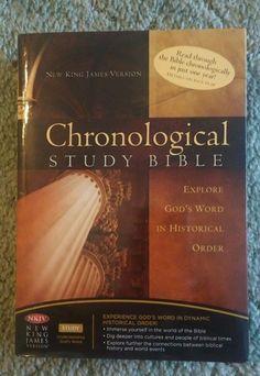 NKJV Chronological Study Bible:in Historical Order by T. Nelson, Hardback, 2008 - http://books.goshoppins.com/christian-books-bibles/nkjv-chronological-study-biblein-historical-order-by-t-nelson-hardback-2008/