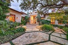 Entry Courtyard, do a smaller scale for small yard