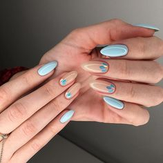 Manicure and nail art are two things that cannot be separated. After manicure's done, nail art is the next stel. Nail art is a technique to apply nails French Nail Designs, Nail Designs Spring, Best Nail Designs, Spring Design, Spring Nails, Summer Nails, Trendy Nails, Cute Nails, Cute Nail Colors