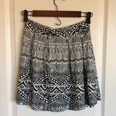Multi Print B&W Skater-Skirt | White Zipper-Back S Posh Rules ✌️Suggested User✌️ All My Bundles Get Discounts! Request a Bundle Quote Today! Make Me an Offer! Not on my feed. If you make an offer on my feed, I may not respond. Still love you! Thanks for your understanding.  Must Have Skirts Circle & Skater
