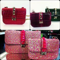 billidollarbaby:    Valentino Spring/Summer 2013 Handbags