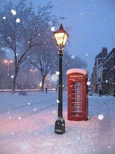 Engelsk vinter!